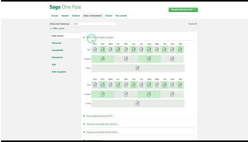 Sage One Paie Présentation de l'application​