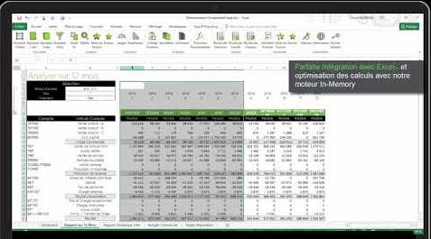 Démonstration de Sage 100cloud BI Reporting - Comptabilité