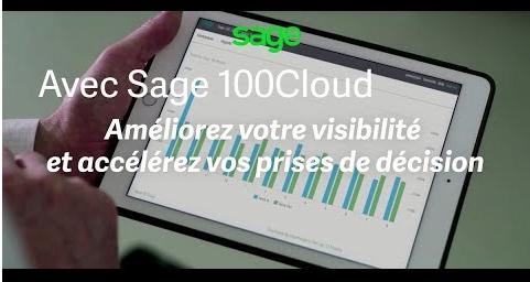 Sage 100cloud pour une gestion de votre activité plus efficace, plus rapide et plus connectée